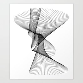 Waves of Time Art Print