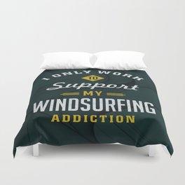 Windsurfing Extreme Sport Duvet Cover