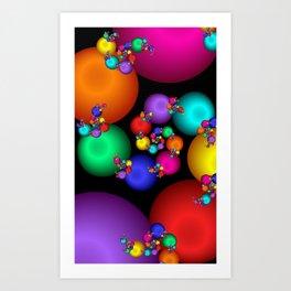 fractal geometry -104- Art Print