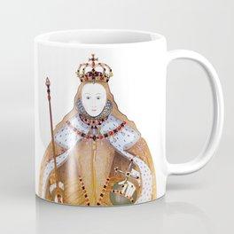 Queen Elizabeth I - historical illustration Coffee Mug