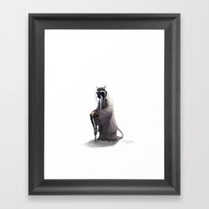Splinter Framed Art Print