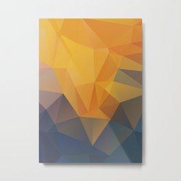 Orangerose Metal Print