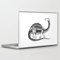 dinosaur Laptop & iPad Skins featuring Dinosaur by Nicole Whelan