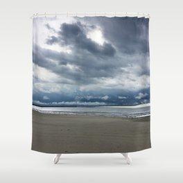 Cedar Point Beach, Sandusky Ohio Shower Curtain