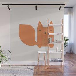 Foxy Friend Wall Mural