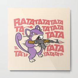 Ratatatata... Metal Print