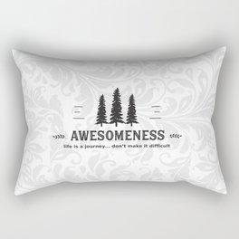 Awesomeness Rectangular Pillow