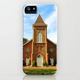 Pointing Towards Heaven iPhone Case