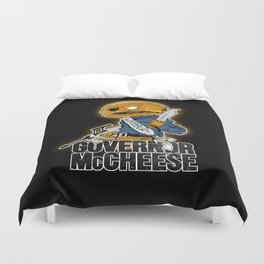 Governor McCheese Duvet Cover