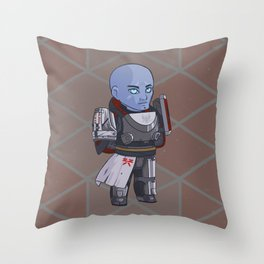 Heavy Armorer Throw Pillow