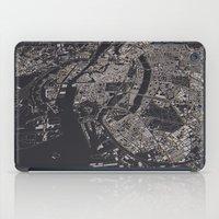 copenhagen iPad Cases featuring Copenhagen city map by maptastix