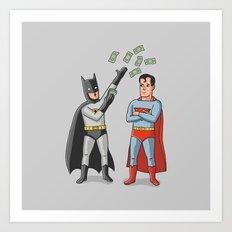 Super Rich Art Print