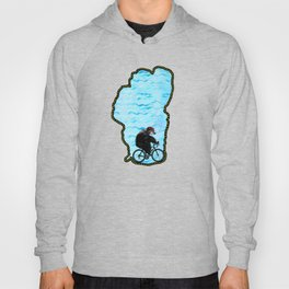 Tahoe Bicycle Bear - Ride Around the Lake Hoody
