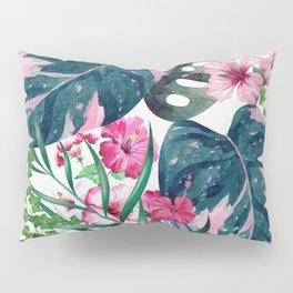 Tropical Plants Pillow Sham