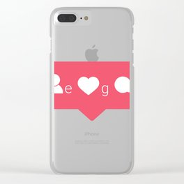 Ego Gram Clear iPhone Case