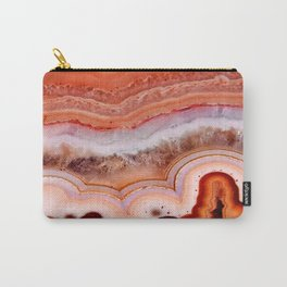 ORANGE AGATE Carry-All Pouch