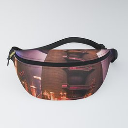 Full moon - Fascination Blood moon over Shanghai Fanny Pack