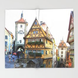 Rothenburg20150903 Throw Blanket