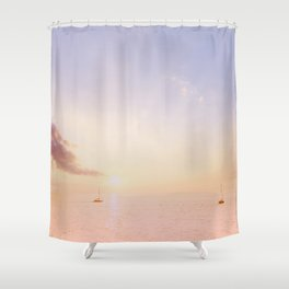 Sailing On The Seas Shower Curtain