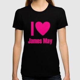 I Love James May T-shirt
