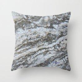 TEXTURES -- Riverstone #1 Throw Pillow