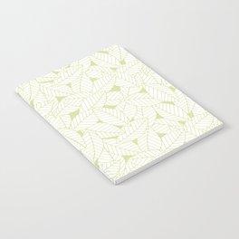 Leaves in Fern Notebook
