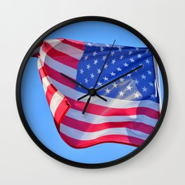 American Breeze and And American Dream (USA Flag) Wall Clock