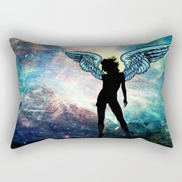 The Universe is my Angel Rectangular Pillow