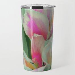 Vintage tulips 8 Travel Mug