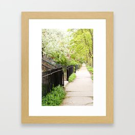 Another Day in the Neighborhood Framed Art Print