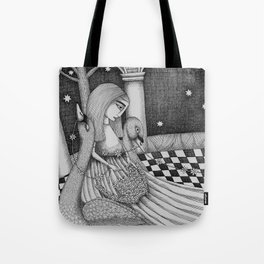 The Star Flowers (1) Tote Bag