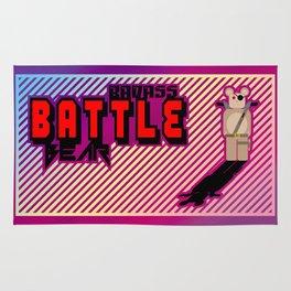 Badass Battle Bear Rug