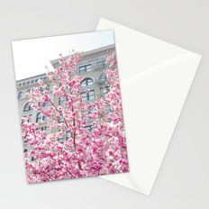 NYC Cherry Blossoms Stationery Cards