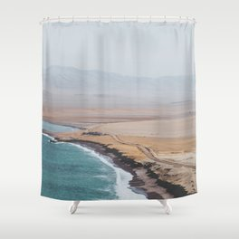 Paracas, Peru I Shower Curtain