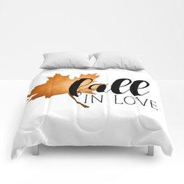 Fall In Love Comforters