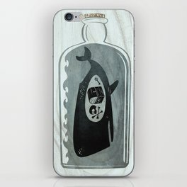 Whale in a Bottle | Treasure and Skull iPhone Skin