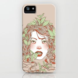 Peppermint Girl iPhone Case