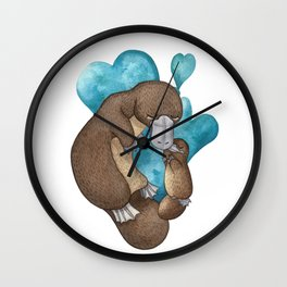 Cute Platypus Wall Clock