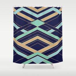 Art Deco Fast Shower Curtain