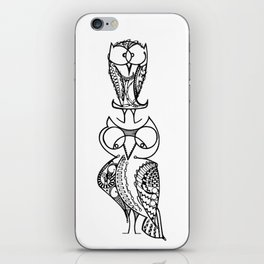 Two Hoot Owls iPhone Skin