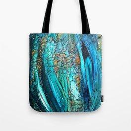 Doodle in blue Tote Bag