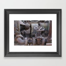 factory 2 Framed Art Print
