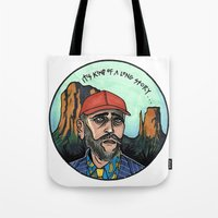 texas Tote Bags featuring Texas by Laura Pato