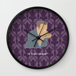The Sign of Three - Greg Lestrade Wall Clock