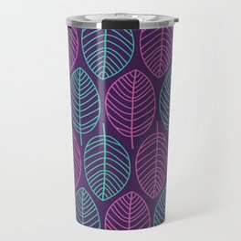 Leaf outlines Travel Mug