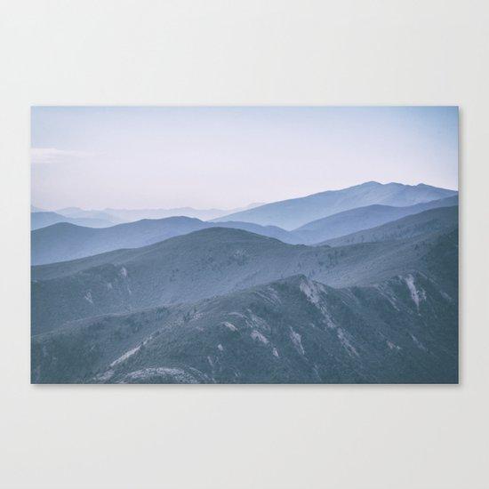 Hills #2 Canvas Print