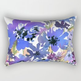 Heavenly Blues and Purples Rectangular Pillow