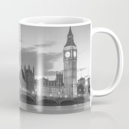 View of the Palace of Westminster and of the Big Ben - London Coffee Mug