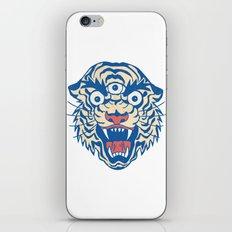 Third Eye Tiger Flash iPhone Skin
