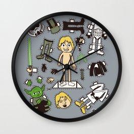 Dress up Luke Wall Clock